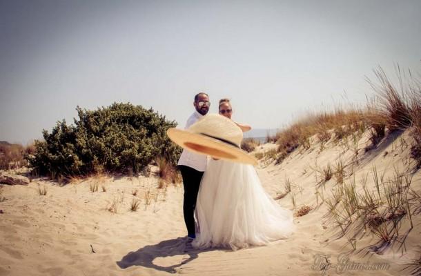 Γάμος σε κτήμα και σε κύμα | Γιώργος & Χριστίνα