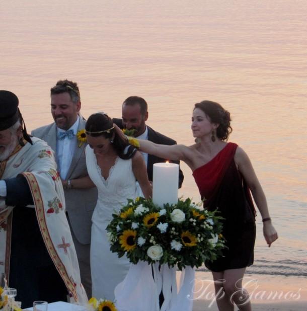 Vintage Γάμος σε παραλία | Rapha & John