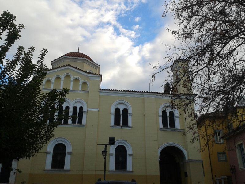 Παμμέγιστοι Ταξιάρχες Παναγία Γρηγορούσα Μοναστηρακίου