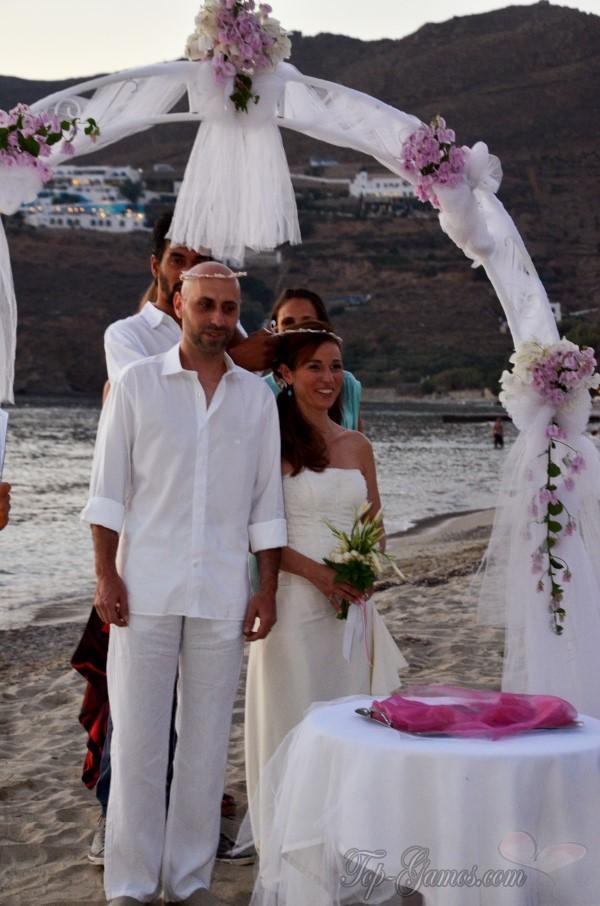 Γάμος σε παραλία στην Αμοργό | Άννα και Βασίλης