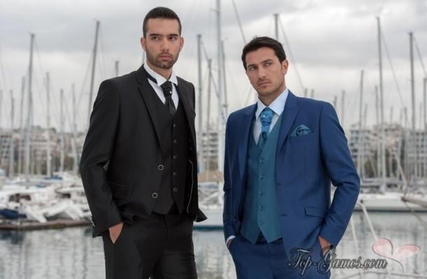 Κοστούμι γάμου και χρώμα