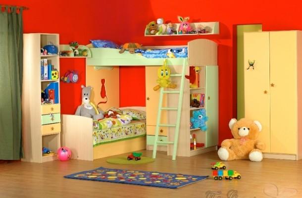 Παιδικό δωμάτιο – χρώματα
