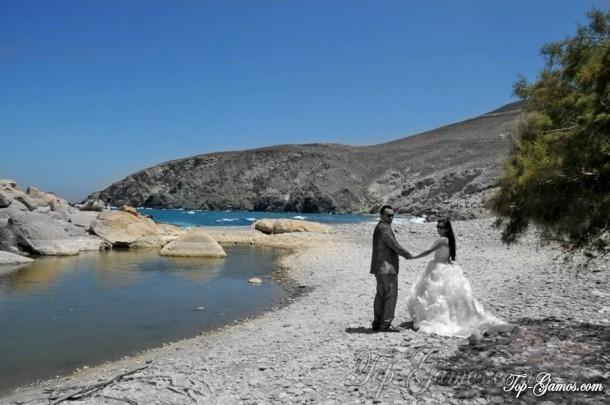 Γαμήλιο ταξίδι στην Τήνο