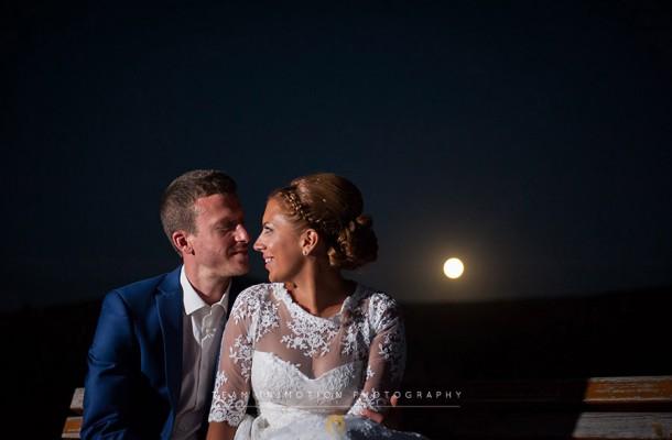 Γάμος στην Κέα σε λευκό και μπλε | Γεράσιμος & Κωνσταντίνα