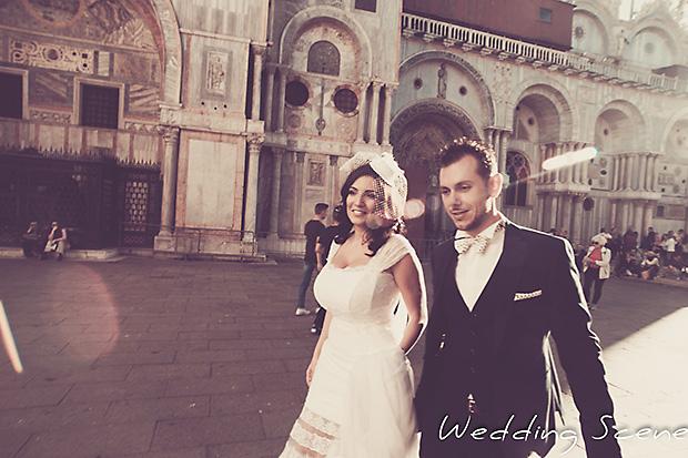 Vintage γάμος από την Αθήνα στη Βενετία | Μαρία & Αντώνης