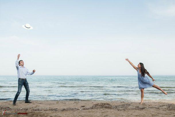 Γάμος στη θάλασσα από έρωτα κεραυνοβόλο! | Σεμίνα & Σπύρος