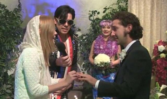 Ο ασυνήθιστος γάμος του Σάια ΛαΜπεφ στο Λας Βέγκας