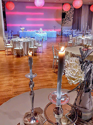 View Hall - ΠΟΛΥΧΩΡΟΙ ΔΕΞΙΩΣΕΩΝ - by Top Γάμος