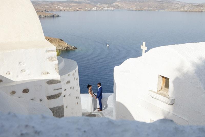 Ρομαντικός γάμος στην Αστυπάλαια | Μαρία & Σταύρος