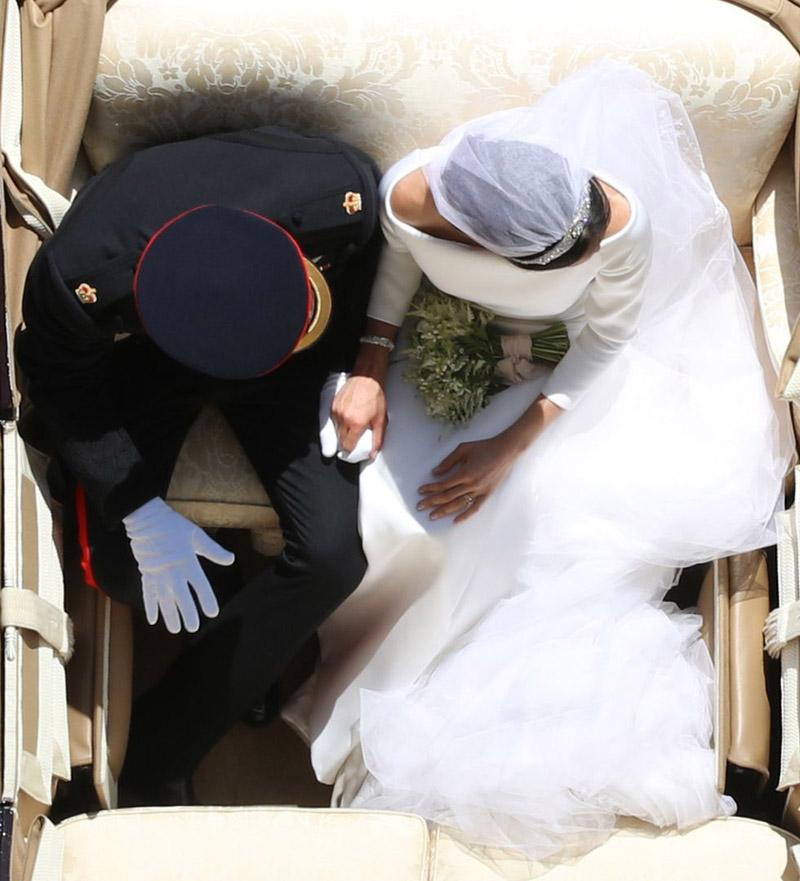 Ο βασιλικός γάμος του Πρίγκιπα Χάρι & της Μέγκαν Μάρκλ